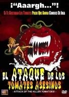 Attack of the Killer Tomatoes! - Spanish DVD cover (xs thumbnail)