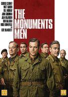 The Monuments Men - Danish DVD cover (xs thumbnail)