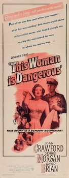 This Woman Is Dangerous - Movie Poster (xs thumbnail)