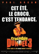 Crocodile Dundee in Los Angeles - French Movie Poster (xs thumbnail)