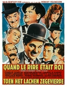 When Comedy Was King - Belgian Movie Poster (xs thumbnail)
