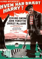 The Trouble with Harry - Danish Theatrical poster (xs thumbnail)