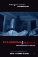 Paranormal Activity 4 - German Movie Poster (xs thumbnail)