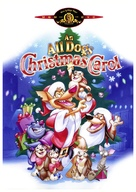 An All Dogs Christmas Carol - DVD cover (xs thumbnail)