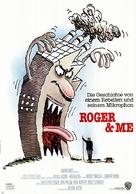 Roger & Me - German Movie Poster (xs thumbnail)