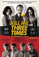 Kill Me Three Times - Turkish Movie Poster (xs thumbnail)