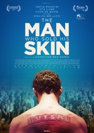 The Man Who Sold His Skin - Swedish Movie Poster (xs thumbnail)