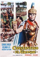 Costantino il grande - Spanish Movie Poster (xs thumbnail)
