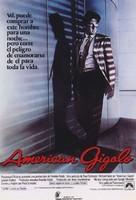 American Gigolo - Spanish Theatrical movie poster (xs thumbnail)