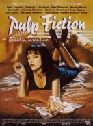 Pulp Fiction - French Movie Poster (xs thumbnail)