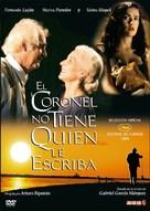 Coronel no tiene quien le escriba, El - Argentinian DVD cover (xs thumbnail)