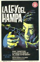The Rise and Fall of Legs Diamond - Spanish Movie Poster (xs thumbnail)