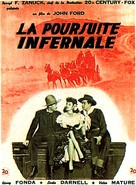 My Darling Clementine - French Movie Poster (xs thumbnail)