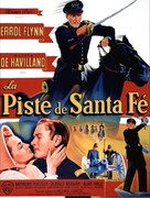 Santa Fe Trail - French Movie Poster (xs thumbnail)