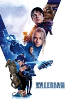 Valerian and the City of a Thousand Planets - German Movie Cover (xs thumbnail)