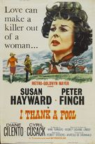 I Thank a Fool - Movie Poster (xs thumbnail)