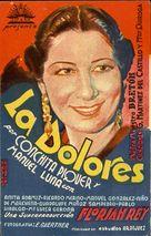 La Dolores - Spanish Movie Poster (xs thumbnail)