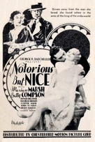 Notorious But Nice - Movie Poster (xs thumbnail)