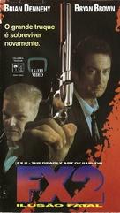 F/X2 - Brazilian VHS movie cover (xs thumbnail)