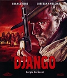 Django - Italian Blu-Ray movie cover (xs thumbnail)