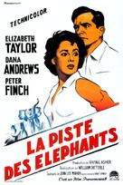Elephant Walk - French Movie Poster (xs thumbnail)