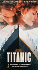 Titanic - VHS movie cover (xs thumbnail)