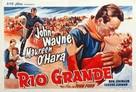 Rio Grande - Belgian Movie Poster (xs thumbnail)