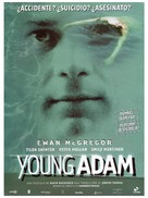 Young Adam - Spanish Movie Poster (xs thumbnail)