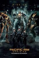 Pacific Rim: Uprising - British Movie Poster (xs thumbnail)