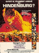 The Hindenburg - French Movie Poster (xs thumbnail)