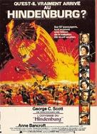 The Hindenburg - French Movie Poster (xs thumbnail)
