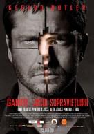 Gamer - Romanian Movie Poster (xs thumbnail)