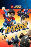 LEGO DC Super Heroes: Justice League - Attack of the Legion of Doom! - DVD movie cover (xs thumbnail)