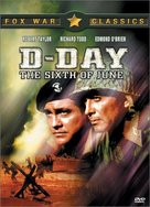 D-Day the Sixth of June - DVD cover (xs thumbnail)