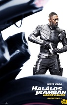 Fast & Furious Presents: Hobbs & Shaw - Hungarian Movie Poster (xs thumbnail)