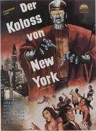 The Colossus of New York - German Movie Poster (xs thumbnail)