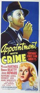 Appointment with Crime - Australian Movie Poster (xs thumbnail)