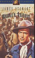 Broken Arrow - British VHS movie cover (xs thumbnail)