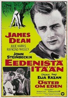 East of Eden - Finnish Movie Poster (xs thumbnail)