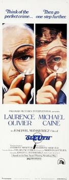 Sleuth - Movie Poster (xs thumbnail)