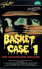 Basket Case - German VHS movie cover (xs thumbnail)