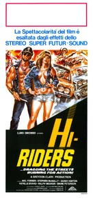 Hi-Riders - Italian Movie Poster (xs thumbnail)