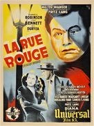Scarlet Street - French Movie Poster (xs thumbnail)