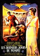 Gli ultimi giorni di Pompei - French Movie Poster (xs thumbnail)