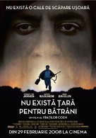 No Country for Old Men - Romanian Movie Poster (xs thumbnail)