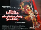 Any Which Way You Can - British Movie Poster (xs thumbnail)