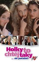 Mädchen, Mädchen - Czech VHS cover (xs thumbnail)