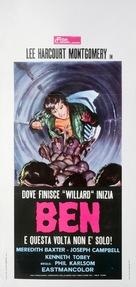 Ben - Italian Movie Poster (xs thumbnail)