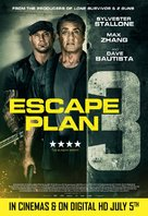 Escape Plan: The Extractors - British Movie Poster (xs thumbnail)