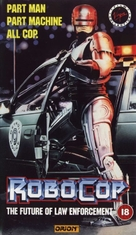 RoboCop - British VHS cover (xs thumbnail)
